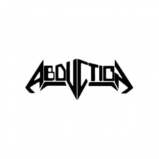 Abduction 3 Band Logo Vinyl...