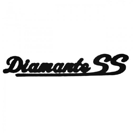 Diamante Ss Decal Sticker