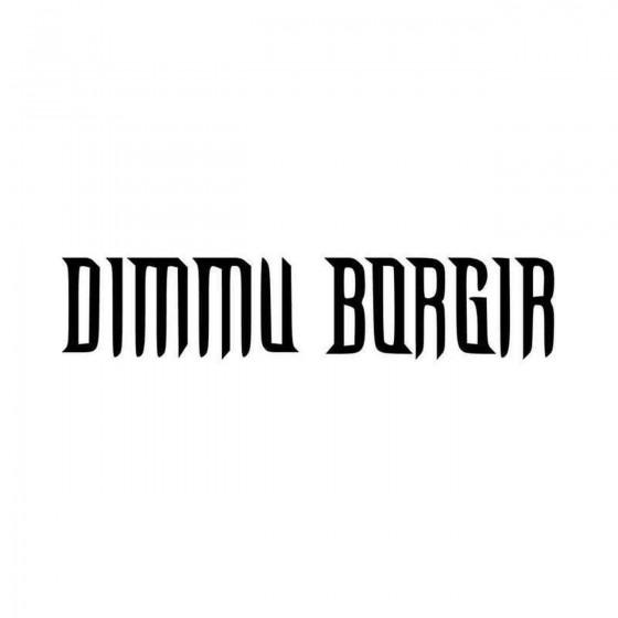 Dimmu Borgir Band Logo...