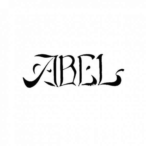 Abel Band Logo Vinyl Decal