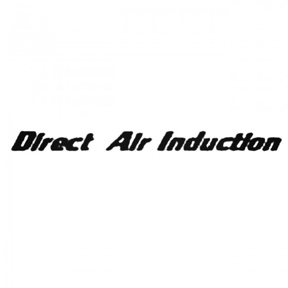 Direct Air Induction 2...