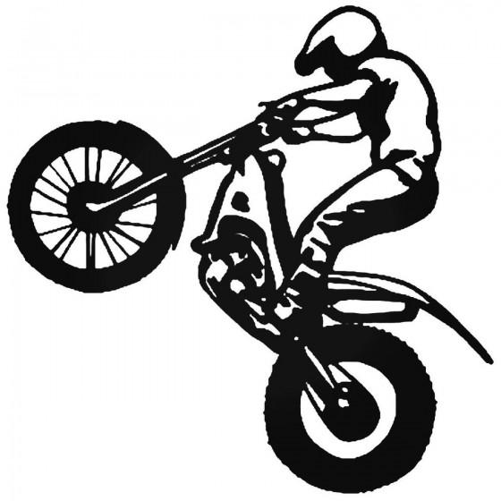 Dirt Bike Motocross 2 Sticker