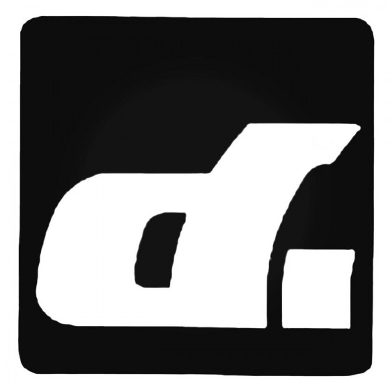 Dirt Magazine Square Decal...