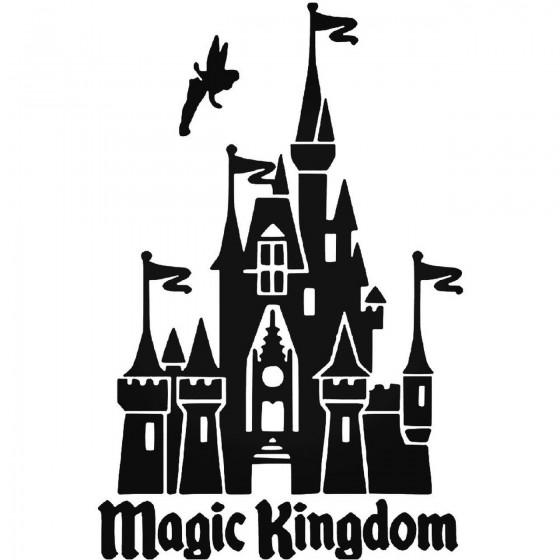 Disney Castle 798 Sticker