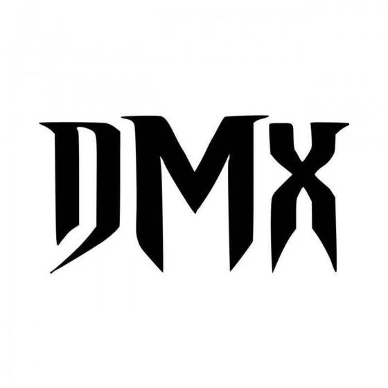 Dmx Vinyl Decal Sticker