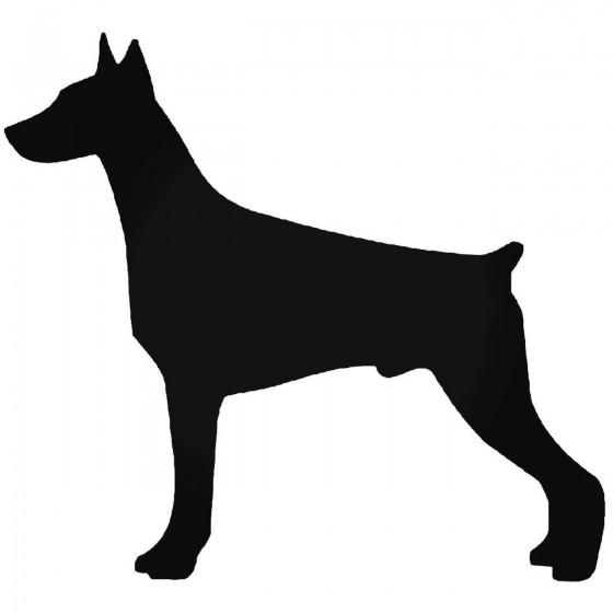 Doberman Dog 1 Sticker