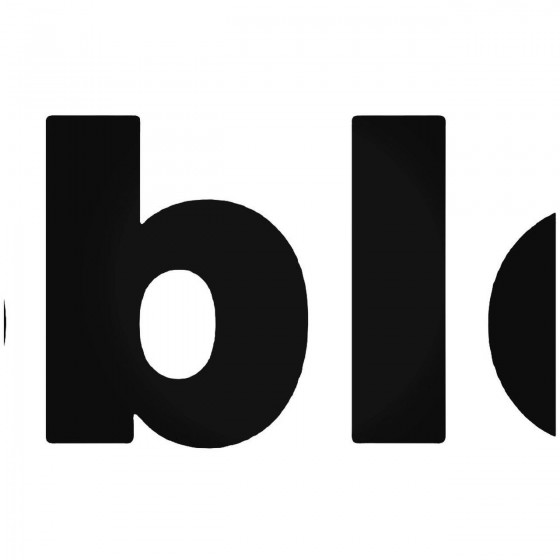 Dobleg Logo 2 Sticker