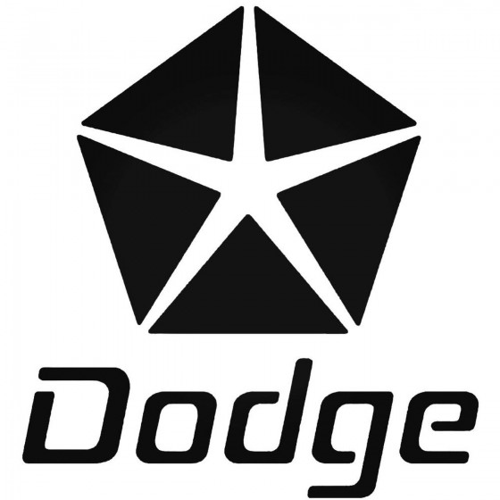 Dodge4 Graphic Decal Sticker