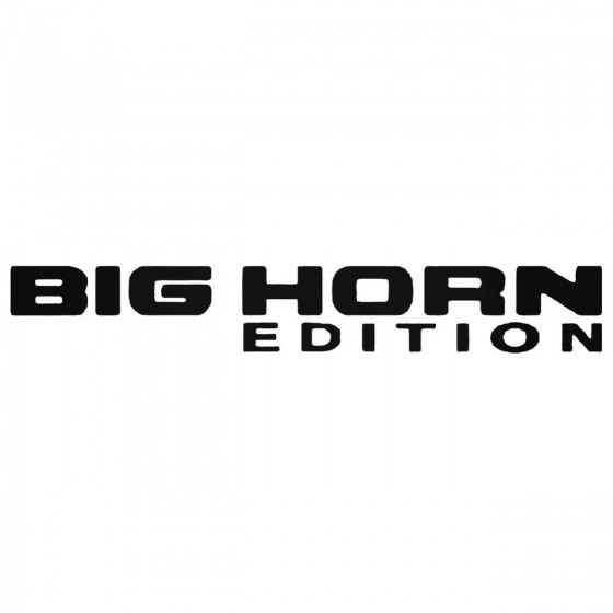 Dodge Big Horn Edition Set...