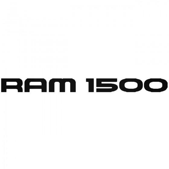 Dodge Ram 1500 Sticker