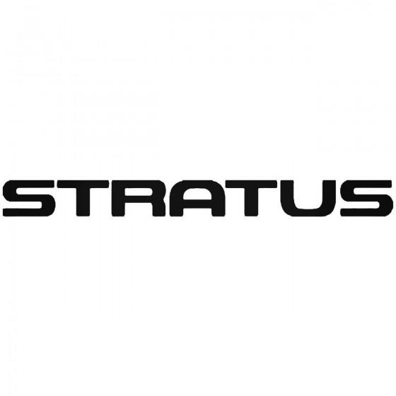 Dodge Stratus Sticker
