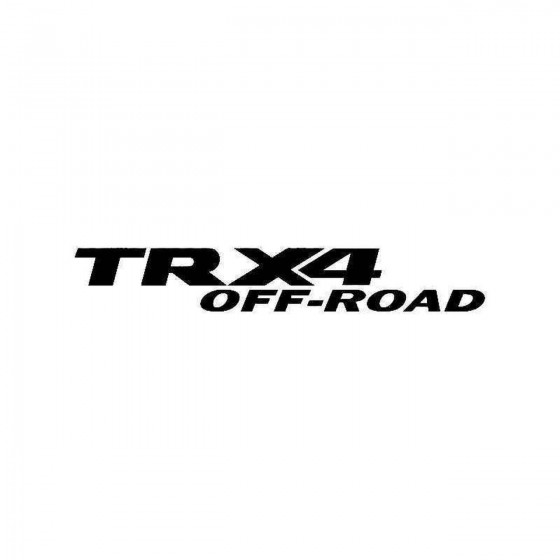 Dodge Trx Off Road Vinyl...