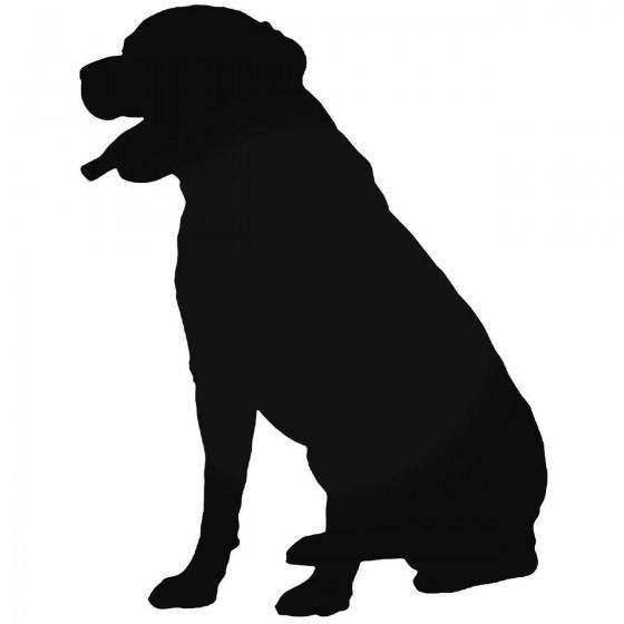 Dog 1753 Sticker