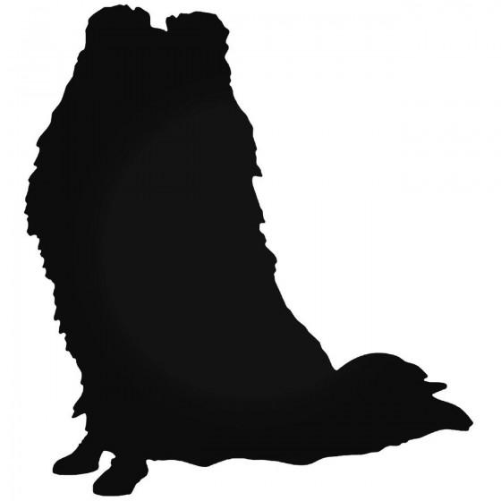 Dog 1754 Sticker