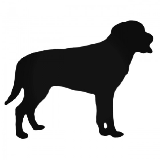Dog S Style 595 Decal Sticker