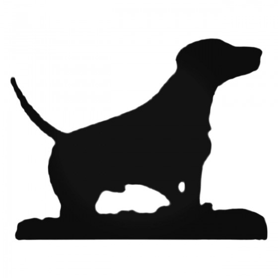 Dog S Style 597 Decal Sticker