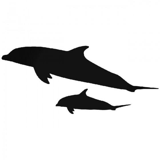 Dolphin Fish 2 Sticker