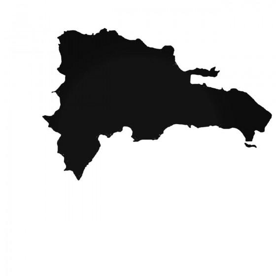 Dominican Republic Decal...