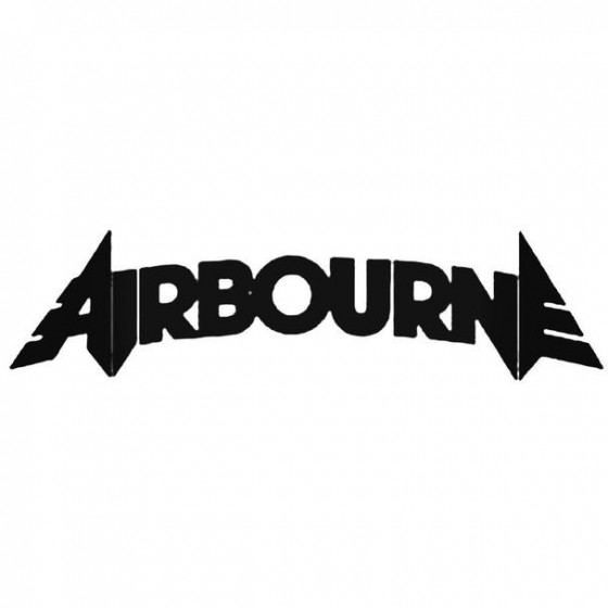 Airbourne Band Decal Sticker