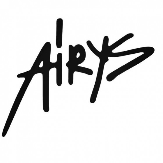 Airys Decal Sticker
