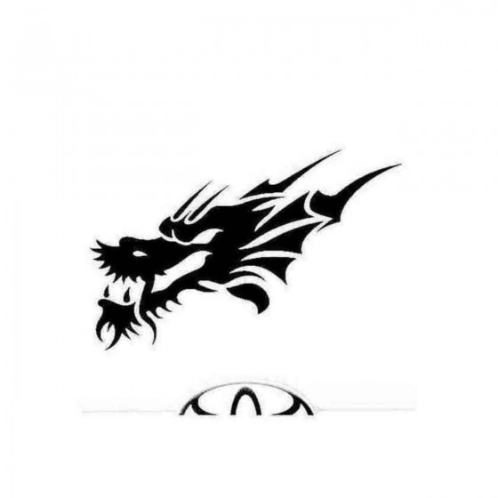 Dragon 12 Decal Sticker