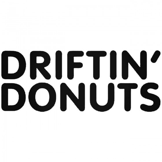Driftin039 Donuts Jdm Decal...