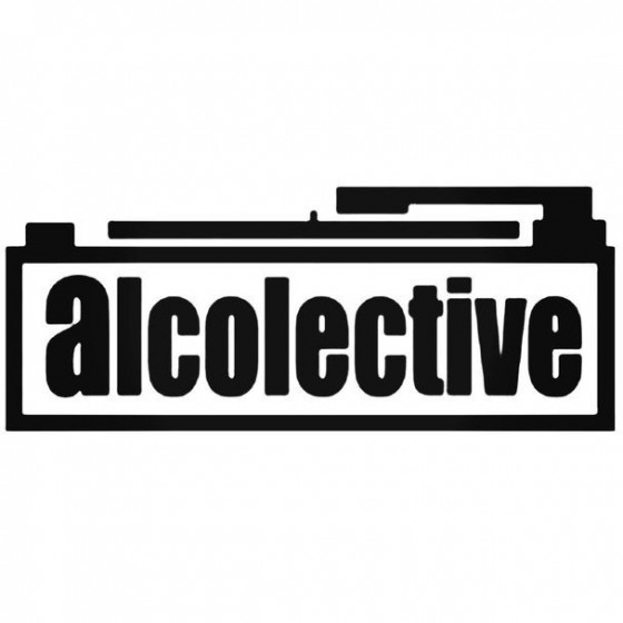 Alcolective Decal Sticker