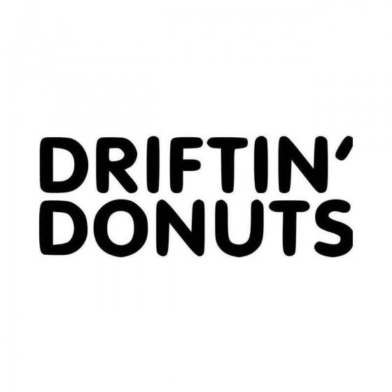 Driftin Donuts Jdm Vinyl...