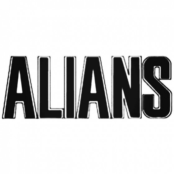 Alians Decal Sticker