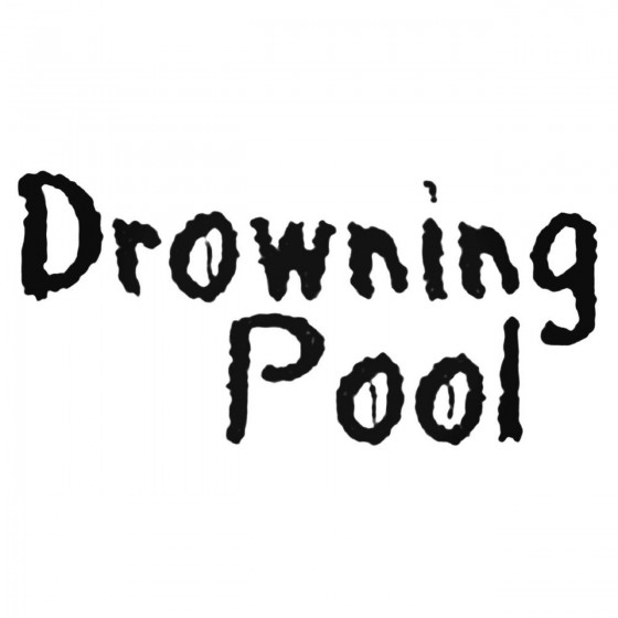 Drowning Pool Decal Sticker