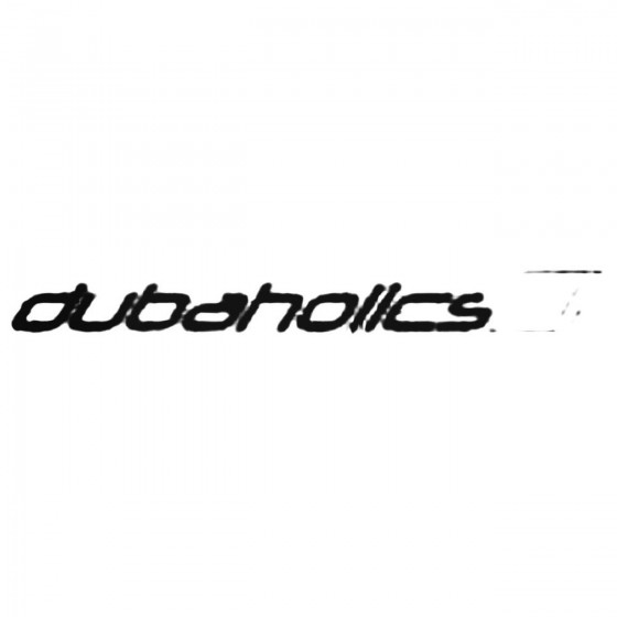 Dubaholics Decal Sticker