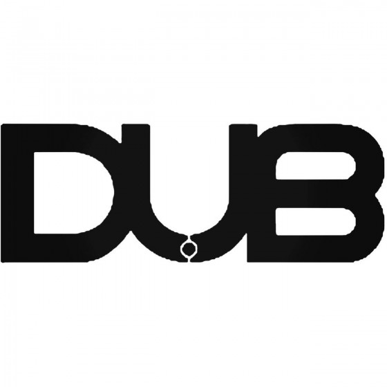 Dub Audio Logo 2 Decal Sticker