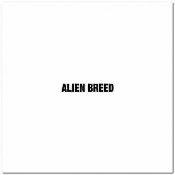 Alien Breed Band Decal Sticker