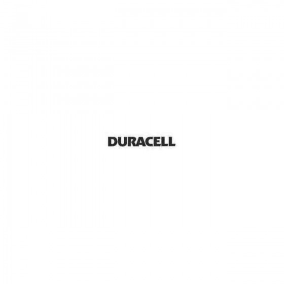 Duracell Decal Sticker