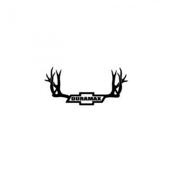 Duramax Chevy Buck Decal...