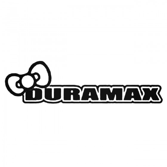 Duramax Girly Logo With Bow...
