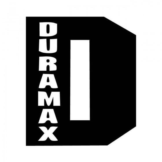 Duramax Sel Vinyl Decal...