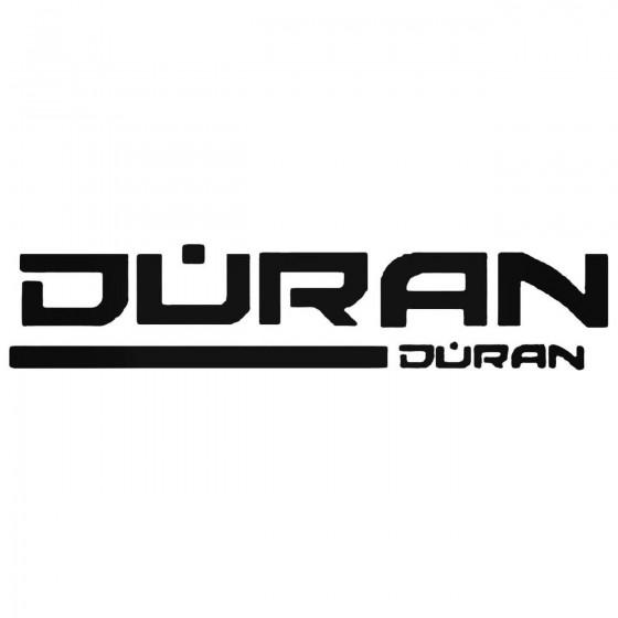 Duran Duran Decal Sticker