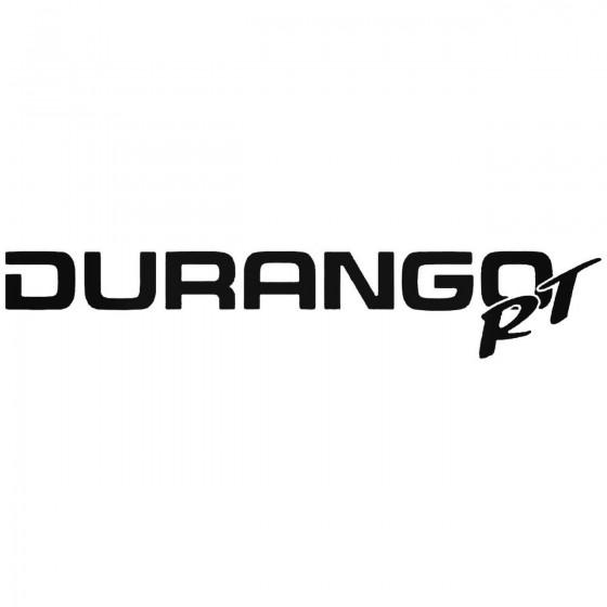 Durango Rt Graphic Decal...
