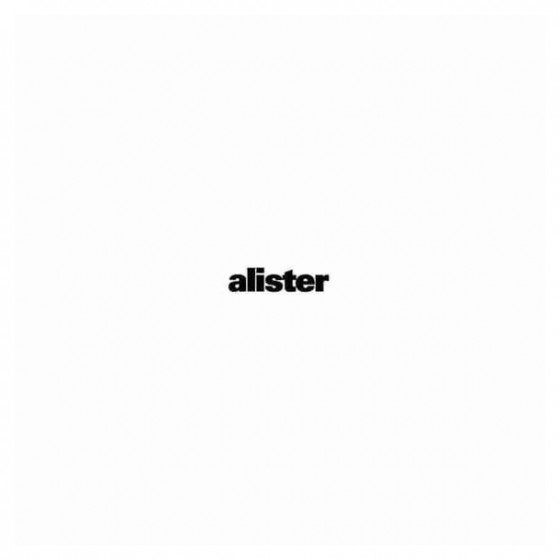 Alister Band Decal Sticker