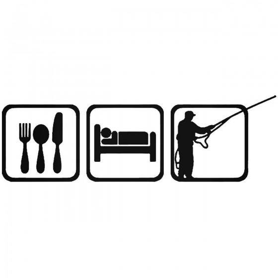 Eat Sleep Fly Fishing Fish...
