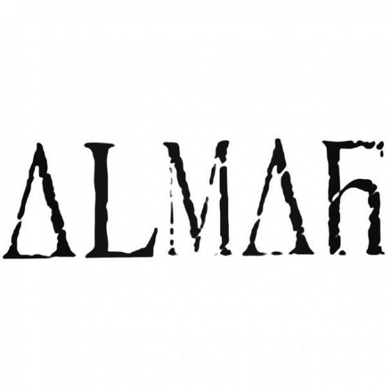 Almah Decal Sticker