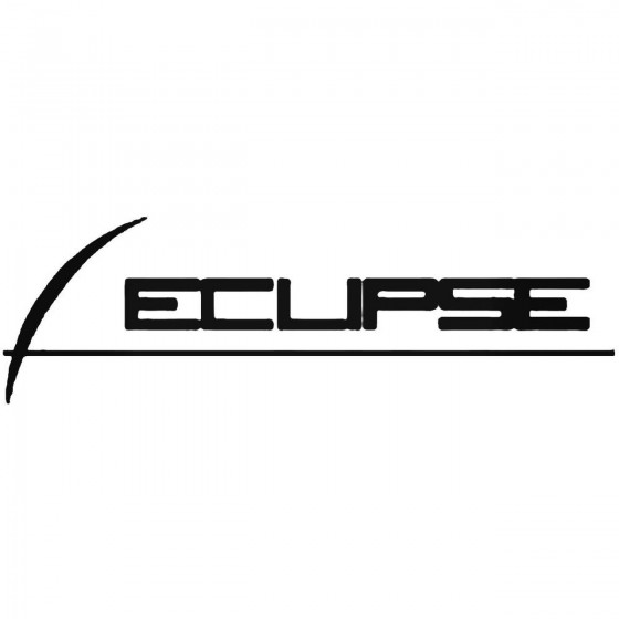 Eclipse B Decal Sticker