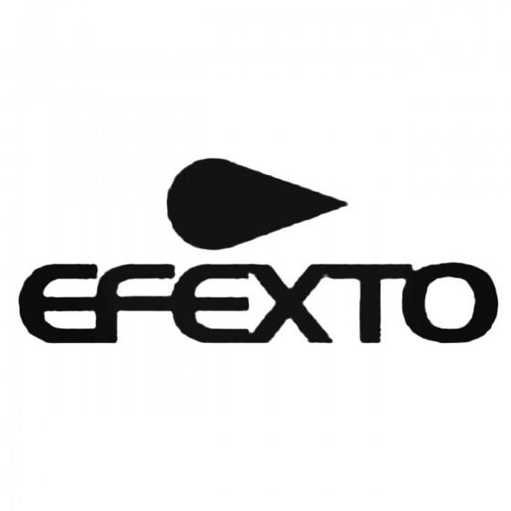 Efexto Decal Sticker