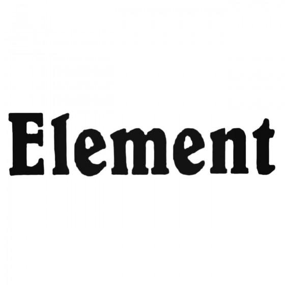 Element Basic Decal Sticker