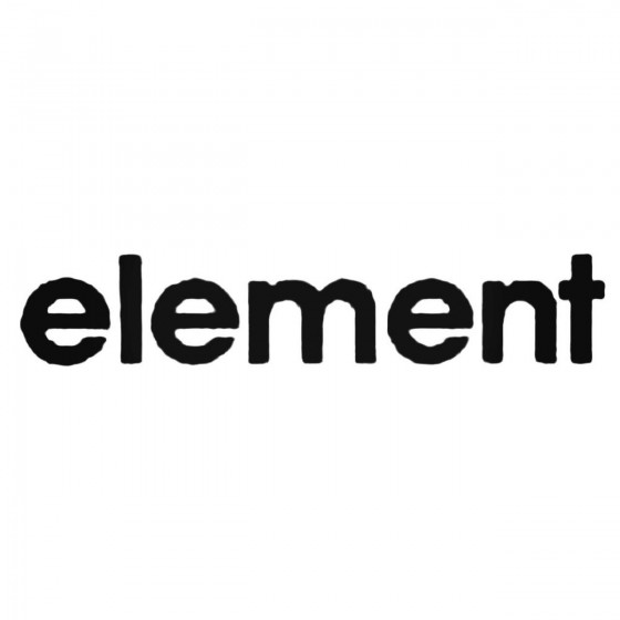 Element Text Basic Decal...