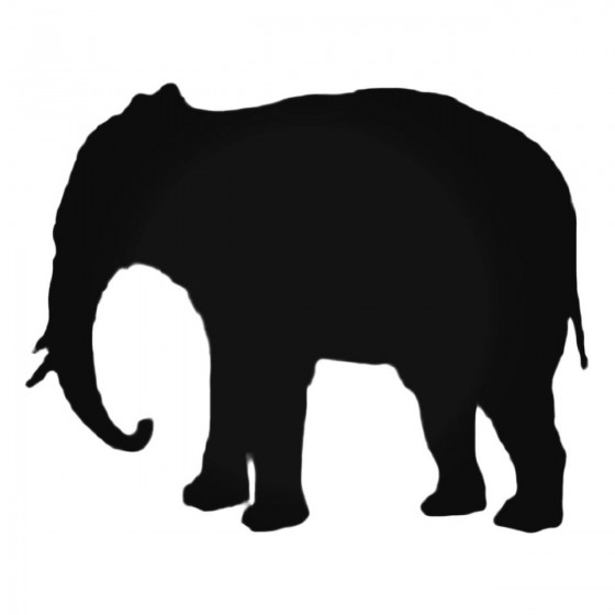 Elephant Decal Sticker