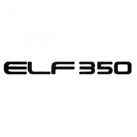 Elf350 Decal Sticker