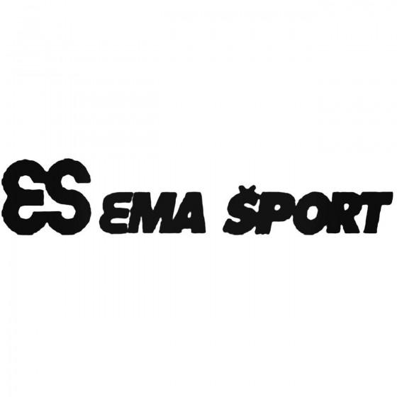 Ema Sports Vinyl Decal