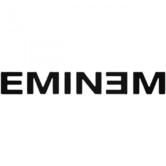 Eminem Vinyl Decal